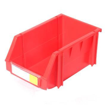 力王 组立零件盒,160*100*74mm,全新料,50个/箱,PK-001-红色