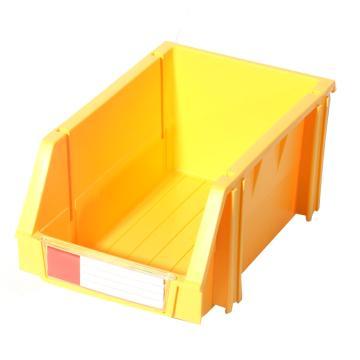 力王 组立零件盒,160*100*74mm,全新料,50个/箱,PK-001-黄色