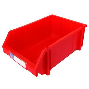 力王 组立零件盒,450*300*177mm,全新料,8个/箱,PK-005-红色