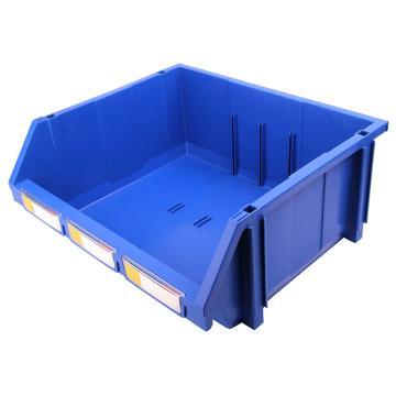 力王 组立/背挂/分隔零件盒,420*370*175mm,全新料,4个/箱,不含分隔片,PK-010-蓝色