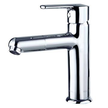 九牧 健康精铜单孔冷热面盆龙头,总高度184mm,出水口高度104mm,32187-205/1B1-Z