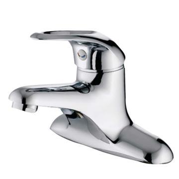 九牧 单把双孔冷热健康饮用水面盆龙头,总高度120mm,出水口高度53mm,3275-050/1C1-Z