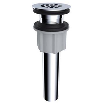 九牧 孔漏式面盆下水器,电镀卫浴配件,外形尺寸φ59*180mm,安装螺纹M38*1.5,91172-1B-1