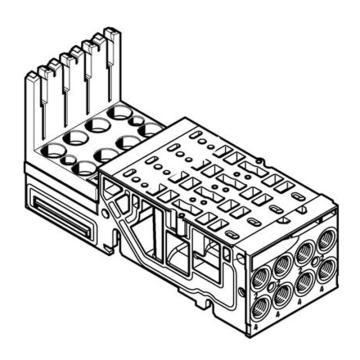费斯托FESTO 电磁阀底座,VMPA1-AP-4-1-EMS-8,546802