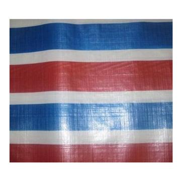 西域推荐 双膜彩条布,尺寸:8*30M,160g/平方米