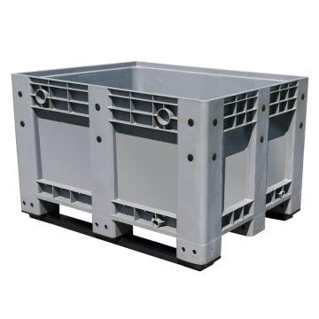 STORAGEMAID 封閉卡板箱,1200×1000×760mm,灰色,可加配蓋子和腳輪,型號:KBX01