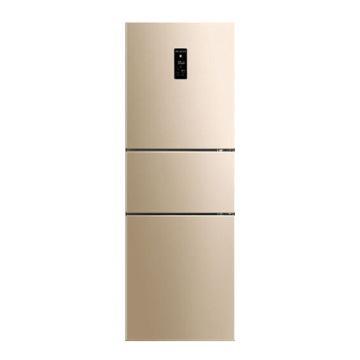 美菱 253升三门冰箱,BCD-253WP3C,变频风冷无霜,一级能效,净味除菌