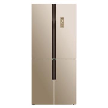 美菱 446升节能十字对开门冰箱,BCD-446WP9C,0.1度精控,变频风冷无霜