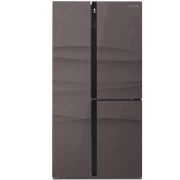 美菱 501升T型多门对开门冰箱,BCD-501WUP9B,0.1度变频,风冷无霜,智能WIFI操控