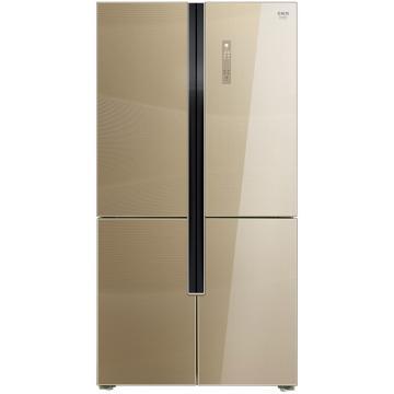 美菱 660升十字对开门冰箱,BCD-660WUP9BA,0.1度双变频,无霜三系统