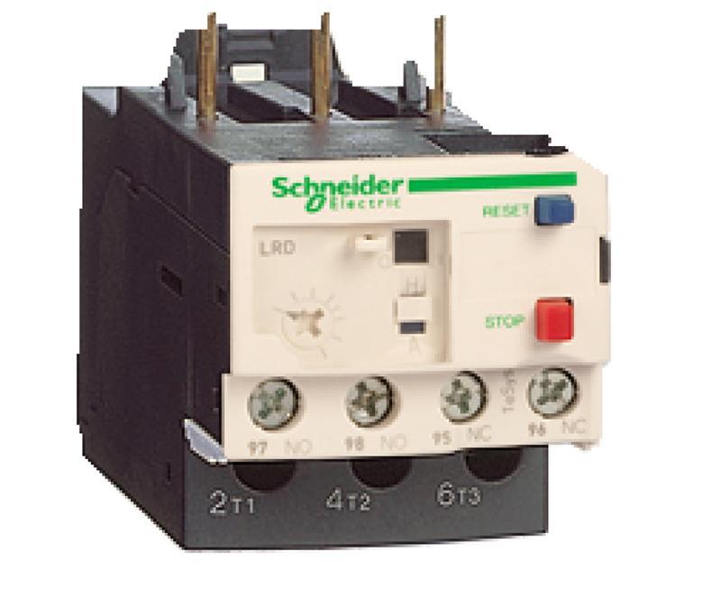 施耐德Schneider 热过载继电器,LRD07 1.6-2.5A