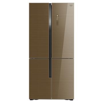 美菱 520升十字对开门冰箱,BCD-520WUP9BA,0.1度双变频,无霜三系统