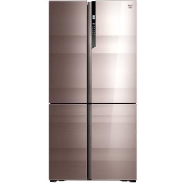 美菱 639升复式对开4门4区冰箱,BCD-639WUP9BA,底部散热,90°开门