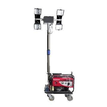 颇尔特 全方位遥控自动升降工作灯,4X500W,POETAA539,单位:个
