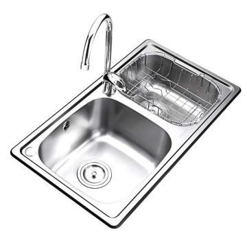 九牧 不锈钢双槽厨房水槽套餐,槽体规格:700*390*190mm,02081-00-Z