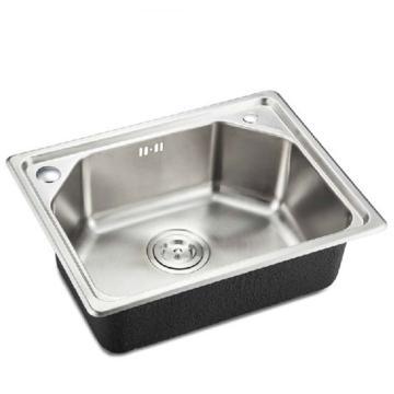 九牧 不锈钢单槽厨房水槽,槽体规格:520*400*190mm,06059-8Z-1