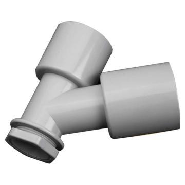 九牧/JOMOO 洗衣机地漏三通接头,规格:95*115,安装螺母:M32*1.5,91108-00-1