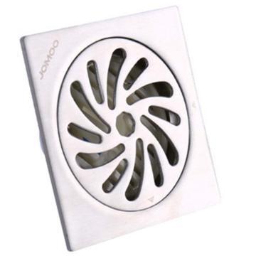 九牧/JOMOO 304不锈钢加厚厨房浴室洗衣机地漏,外形尺寸为:100mm*100mm,92194-7B-1