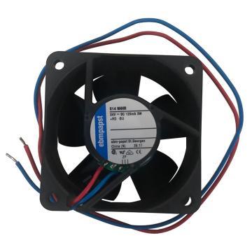 ebmpapst 散熱風扇,614NHHR,24VDC,3W