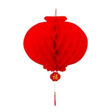 塑纸蜂窝灯笼, 25# 直径21cm
