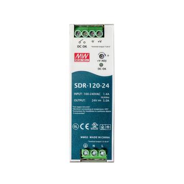 明纬MEANWELL 开关电源,SDR-120-24