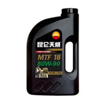 昆仑 变速箱油,MTF-18 80W90, 16kg/桶
