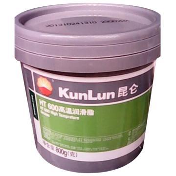 昆仑 润滑脂,HT600,高温润滑脂(600℃),0.8kg/桶