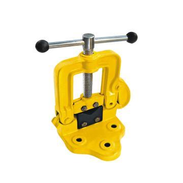 波斯BOSI 管子台虎钳,4#,BS522104,管子压力钳 三角架台虎钳 龙门钳 管子夹具