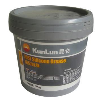 昆仑 润滑脂,7057,硅脂,0.8kg/桶