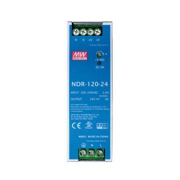 明纬MEANWELL 开关电源,NDR-120-24