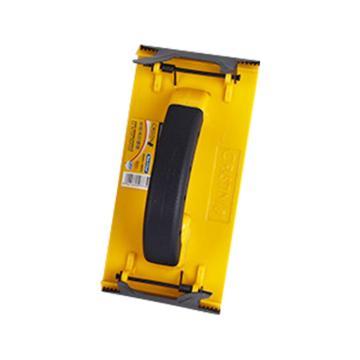 克里斯汀 砂纸布打磨器,90mmx180mm,D7301,多功能砂纸架 墙面打磨机 手动砂纸机 手动磨砂机