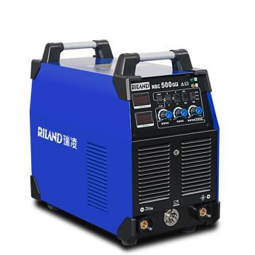 瑞凌 分體式二氧化碳氣體保護焊機,NBC-500GF,380V,官方標配+送絲機(帶10米線)