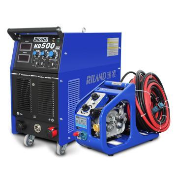 瑞凌 分體式二氧化碳氣體保護焊機,NB-500I,380V,官方標配+送絲機(帶10米線)