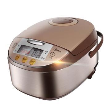 美的(Midea)家用智能饭煲, MB-FS4017,4升容量 预约定时