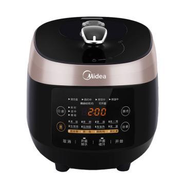 美的(Midea)电压力锅, MY-SS5048P,家用智能5L双胆高压锅饭煲3-4-6人