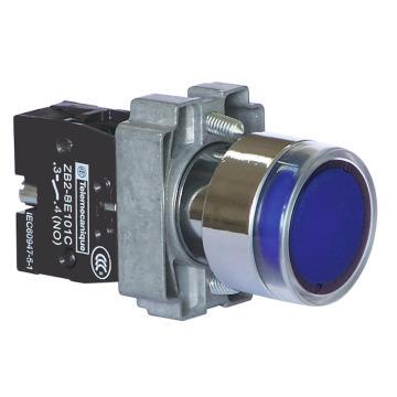施耐德Schneider XB2 带灯按钮基座(24VDC),ZB2BWB61C