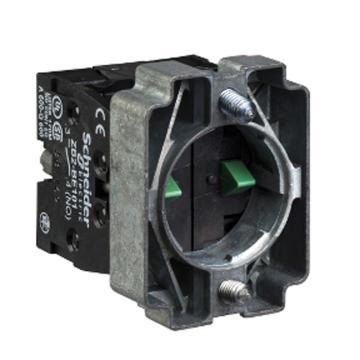 施耐德Schneider XB2 安装基座带触点2NC,ZB2BZ104C