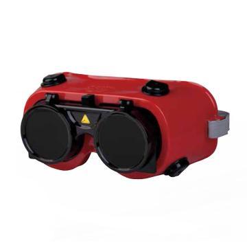 代尔塔DELTAPLUS 焊接眼镜,101013,TOBA3 翻转镜片式