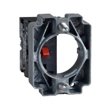 施耐德Schneider XB2 安装基座带触点1NC,ZB2BZ102C
