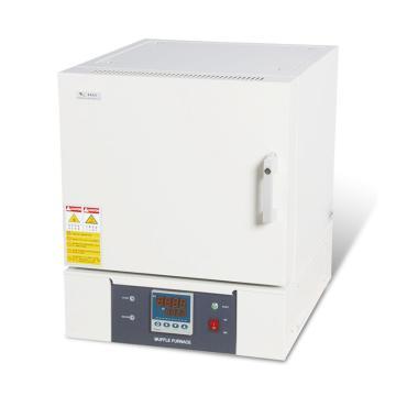 精锐 箱式电阻炉,一体式、陶瓷纤维炉膛,最高温度1000℃,工作室尺寸:400*250*160/16L,SX2-8-10T