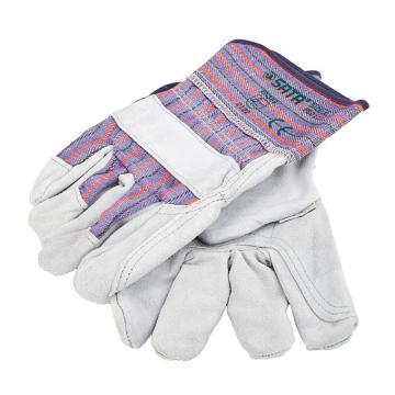 世達SATA 半皮手套,FS0102,經濟型 XL
