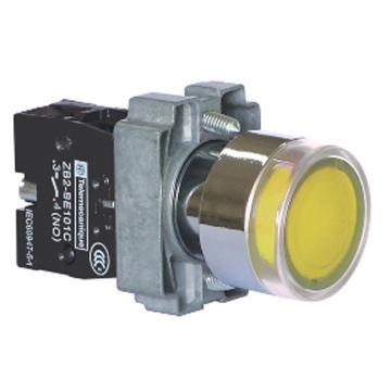施耐德Schneider XB2 带灯按钮基座(220VAC),ZB2BWM51C