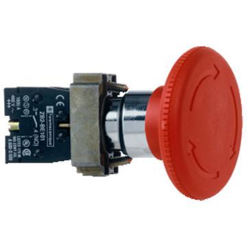 施耐德Schneider XB2 Φ60急停按钮头(旋转复位),ZB2BS64C(10的倍数订货)