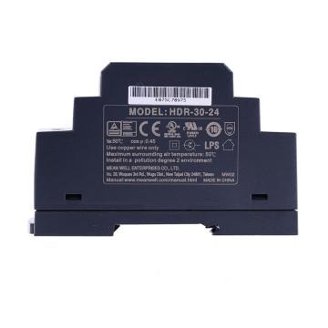 明纬MEANWELL 开关电源,HDR-30-24