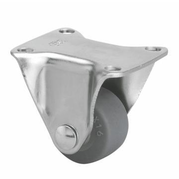 易得力(EDL) 定向超级人造胶(TPE)脚轮,脚轮小型1寸30kg,20101-201-52