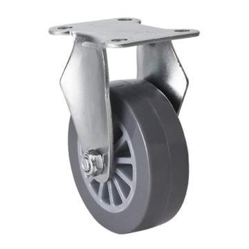 易得力(EDL) 定向聚氨酯(PU)脚轮,脚轮小型2.5寸35kg,261025-2625-73