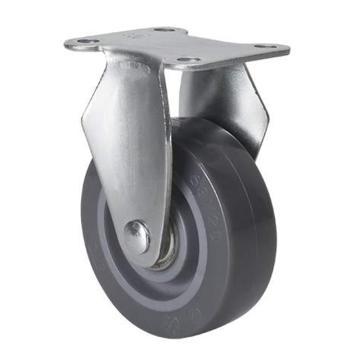 易得力(EDL) 定向聚氨酯(PU)脚轮,脚轮小型2.5寸40kg,261025-2625-76