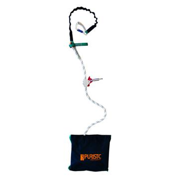 普瑞斯特PURISTC 安全繩,PT-0020-4,配移動限位鎖 4m