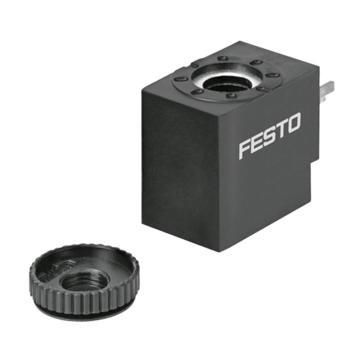 费斯托/FESTO电磁阀线圈,DC24V,VACS-C-C1-1,8025330