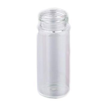 24-400螺纹口透明样品瓶 40mL OD*H(mm)27.5*95 描述24-40螺纹口 透明玻璃 包装100个/包